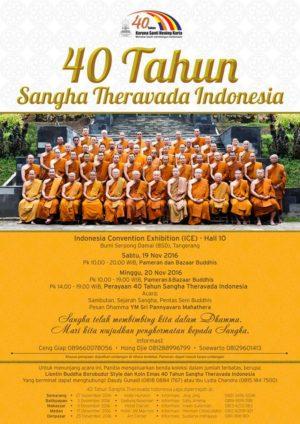 40 Tahun Sangha Theravada Indonesia