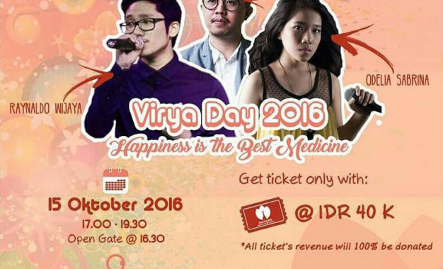 Virya Day 2016: Happiness is the Best Medicine