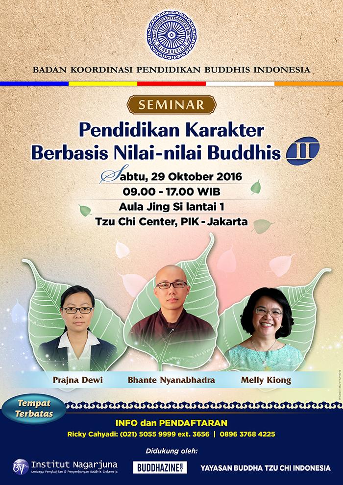 Pendidikan Karakter Berbasis Nilai-nilai Buddhis II