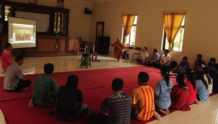 20170201 Pemuda Buddhis Temanggung-Semarang-Kendal Budidayakan Kopi dan Jamur Tiram 3