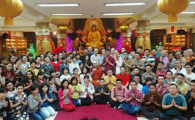 Bincang-bincang dengan Bhante Dhammika