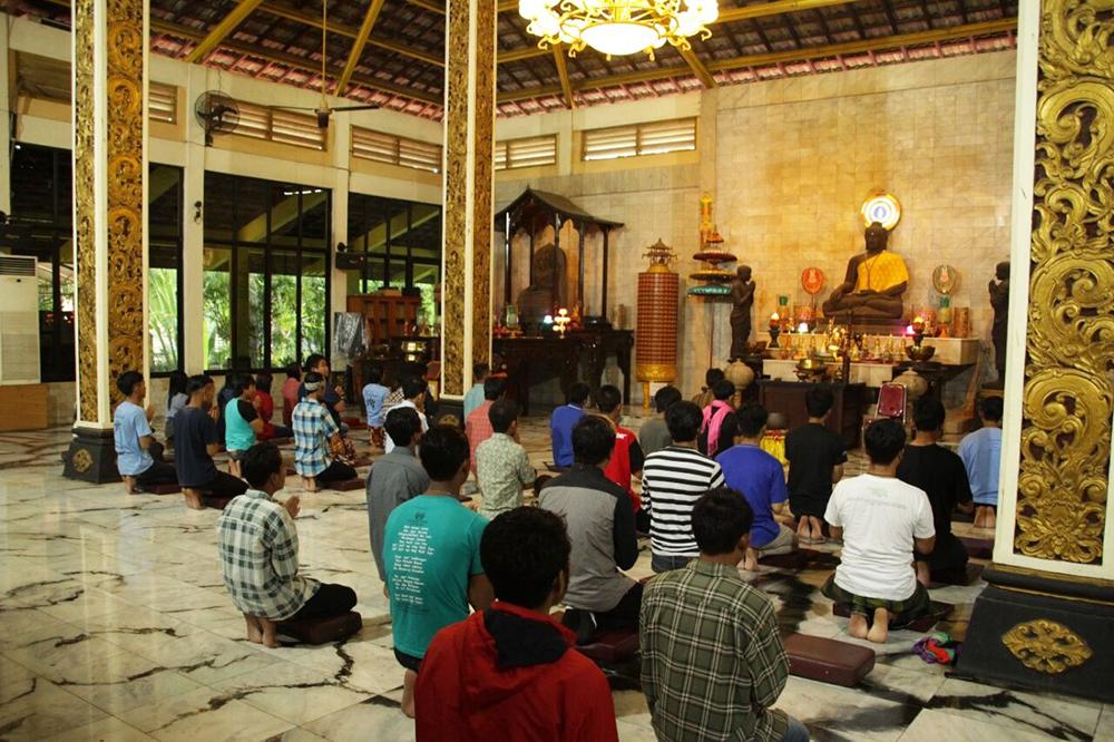 20170225 Maha Vihara Majapahit dan Patung Buddha Tidur, Ikon Mojokerto 3