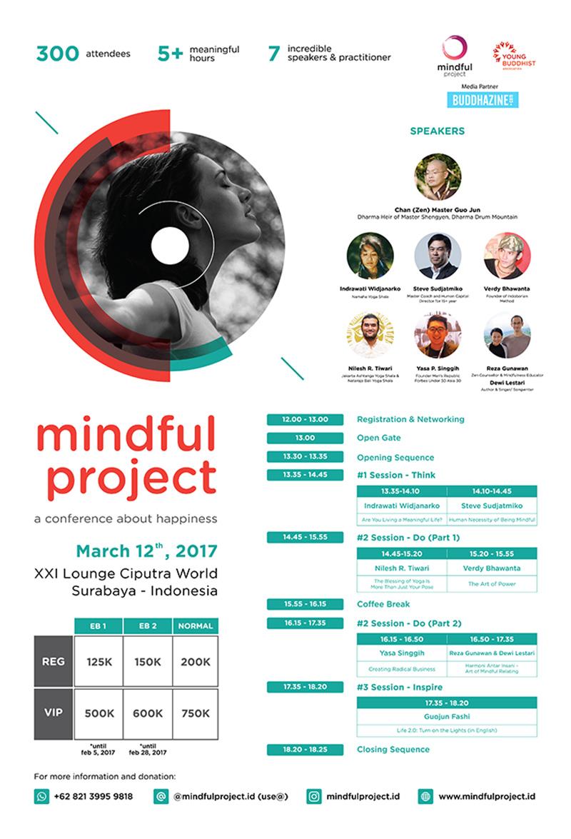 Mindful Project: Sebuah Konferensi tentang Kebahagiaan