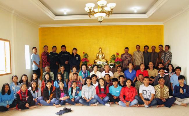 Yayasan Abdi Dhamma Indonesia (YADI) Merenovasi Vihara Dhamma Ratana di Temanggung