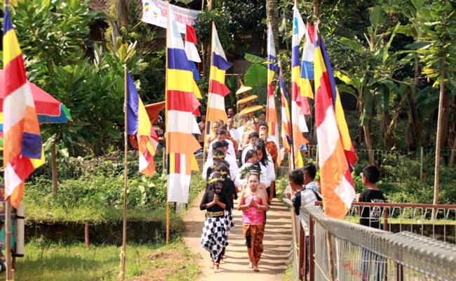 Waisak Menjadi Puncak Bangkitnya Semangat Umat Buddha Temanggung