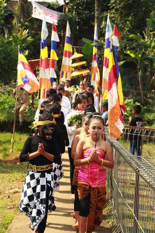 20170523 Waisak Menjadi Puncak Kebangkitan Umat Buddha Temanggung 2