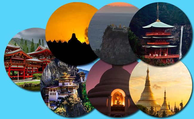 7 Tempat Suci Buddhis Terindah di Dunia