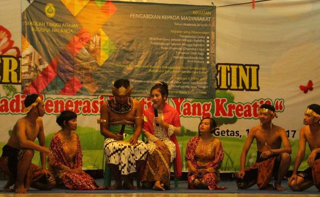 STAB Nalanda Jakarta Mengadakan PKM di Temanggung