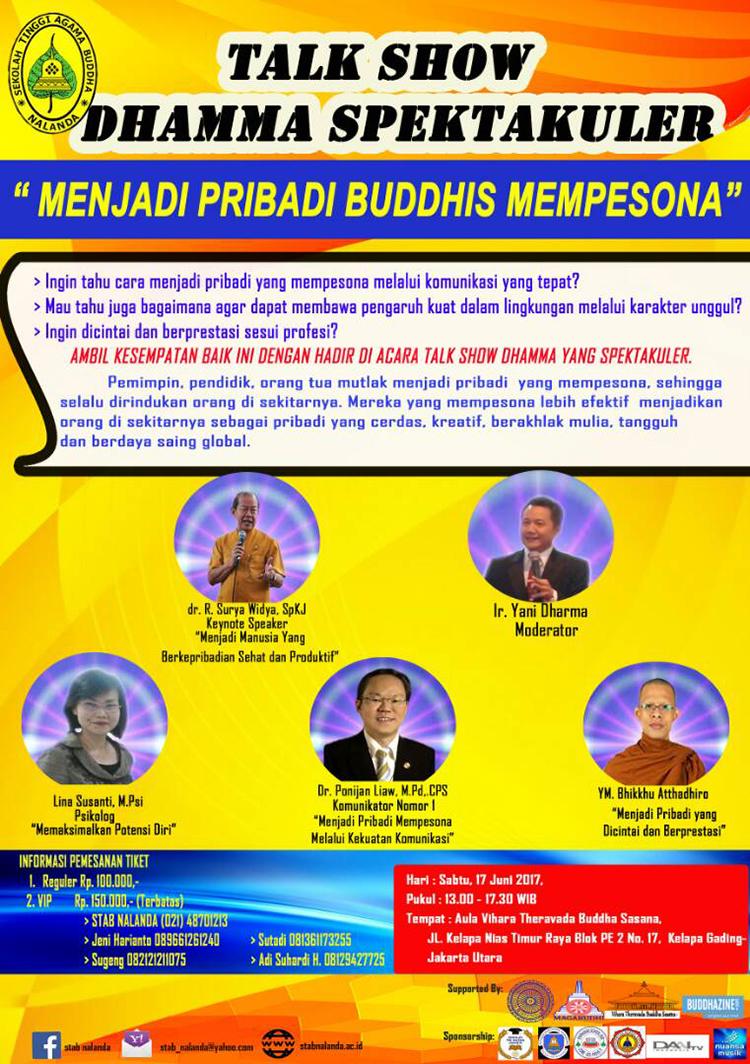 Menjadi Pribadi Buddhis Mempesona