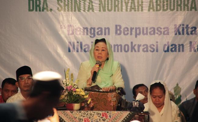 Untuk Ciptakan Toleransi, Istri Gus Dur Gelar Buka Puasa Bersama Lintas Agama
