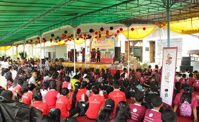 Pusdiklat Buddhis Bodhidharma Gelar Temu Kreativitas Anak Sekolah Minggu