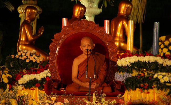 Asadha Agung dan Pesan Dhamma Bhante Sri Pannyavaro di Candi Borobudur 2017