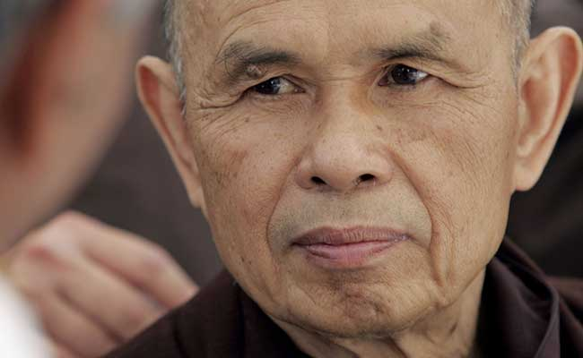 Union Theological Seminary Anugerahkan Union Medal kepada Thich Nhat Hanh