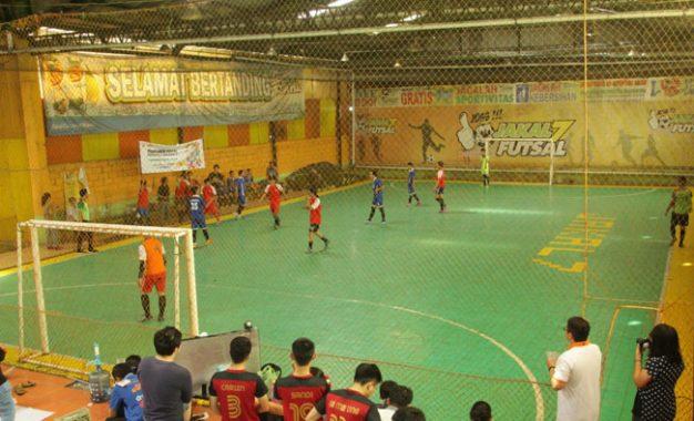 Keluarga Mahasiswa Buddhis (Kamadhis) Universitas Gajah Mada Gelar Turnamen Futsal