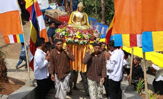 Dengan Budaya Jawa, Vihara Ekasasana Surya Diresmikan