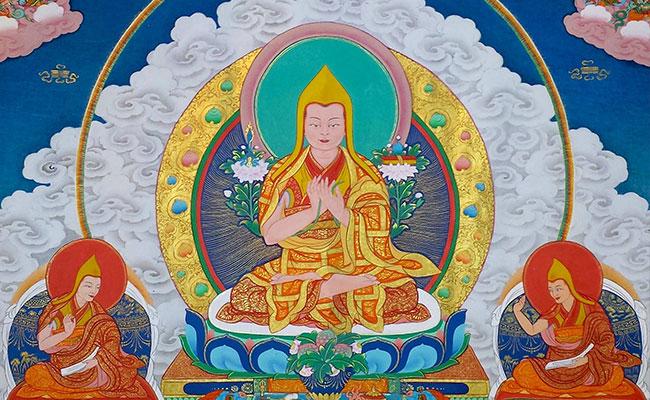 Lama Tsongkhapa, Guru Besar Tibet Penerus Buddhadharma Nusantara