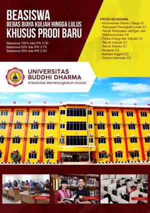 Beasiswa Kuliah Universitas Buddhi Dharma