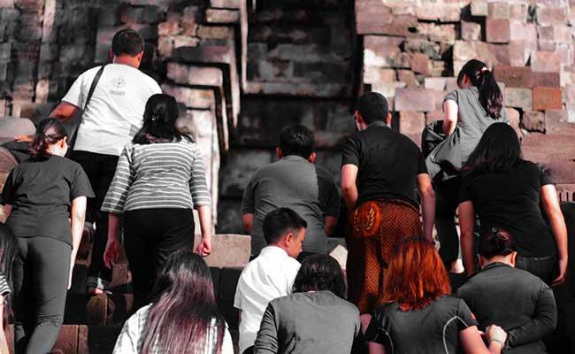 Pembukaan Dhamma Youth Gathering 2018 di Candi Mendut