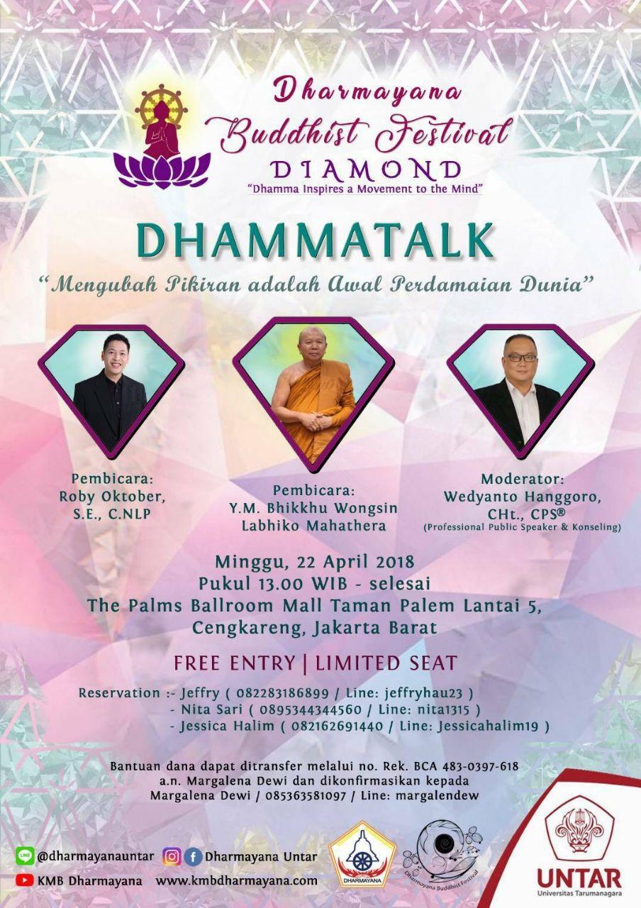 Dharmayana Buddhist Festival 2018