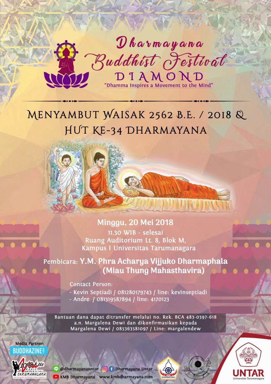 Dhamma Inspires a Movement to The Mind (DIAMOND)