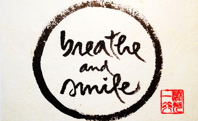 Zen dan Senyuman