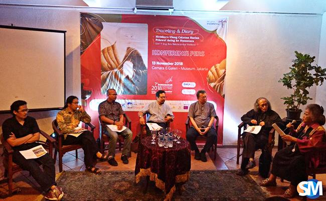 Catatan Para Musafir tentang Nusantara Dibahas di Gelaran BWCF 2018