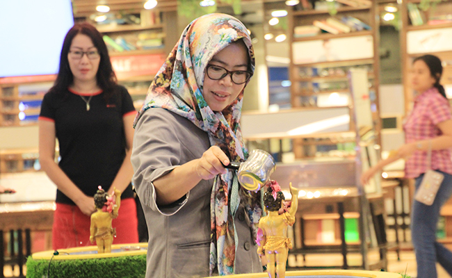 Vesak Festival 2019 Surabaya, Ajak Masyarakat Refleksi Diri