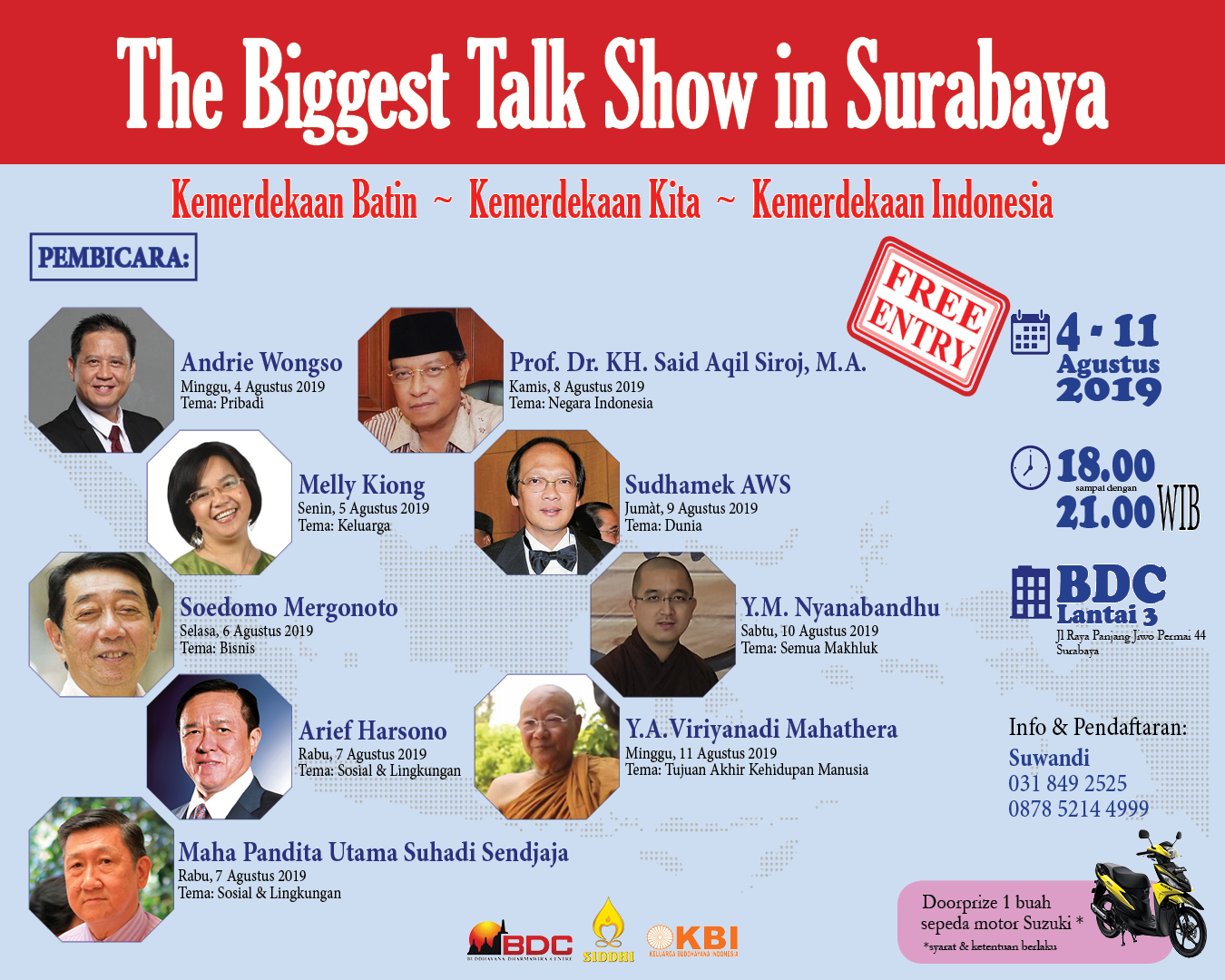 Arek Suroboyo, Ayo Hadir di Acara The Biggest Talk Show