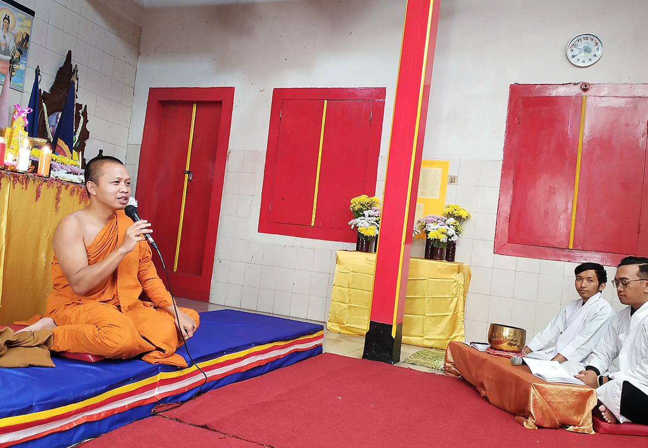 Asadha Vihara Buddha Prabha Jogja, Begini Permintaan Bhante Badrapalo