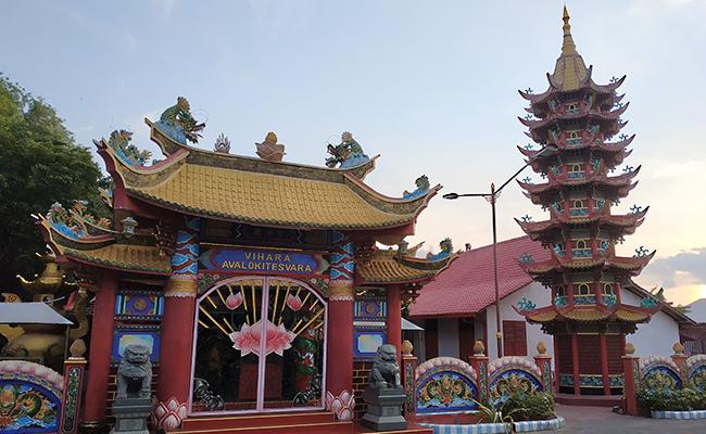 Di Vihara Avalokiteshvara Madura Ada Arca Buddhis Era Majapahit