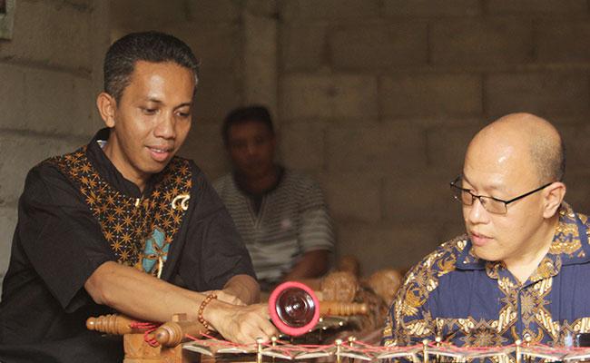 Danang Suseno Penggubah Komposisi Musik Kidung Prajnaparamita Versi Jawa