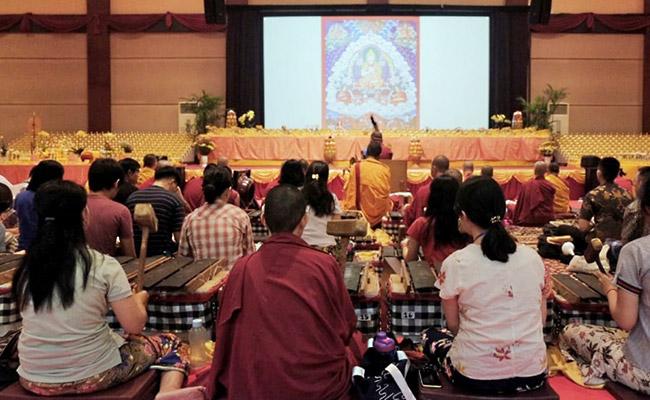 Perayaan Akbar Gaden Ngamchoe 2019, Merayakan Keagungan Sang Raja Dharma