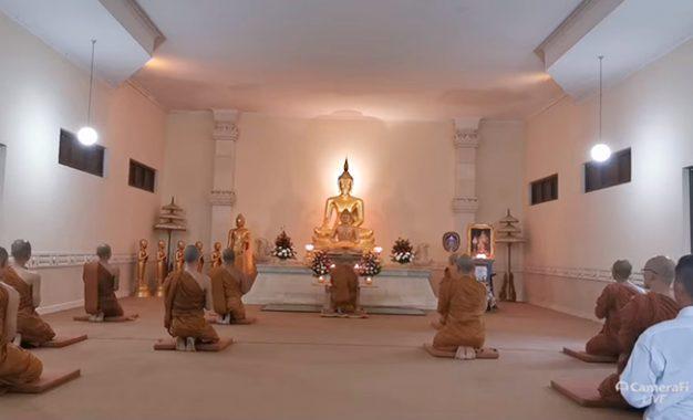 Mengikuti Puja Waisak Kekinian via Youtube