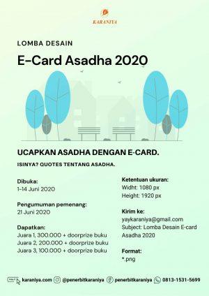 Lomba Desain E-Card Asadha 2020