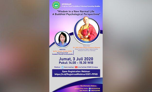 Kebijaksanaan dalam Kehidupan Normal Baru:  Sebuah Pandangan Psikologis Buddhis
