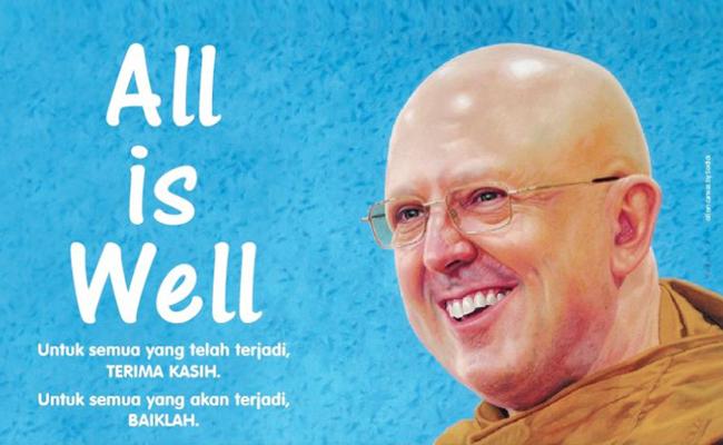 Horee!! Maret 2012, Ajahn Brahm Akan Kembali Ceramah Keliling Indonesia