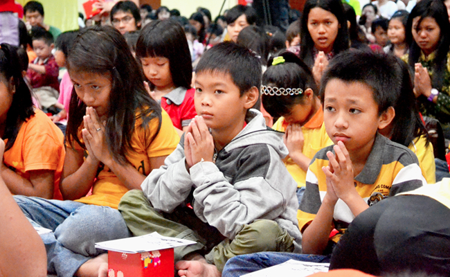 Tips Mengajar Anak Buddhis ala Bhikkhu Cittagutto