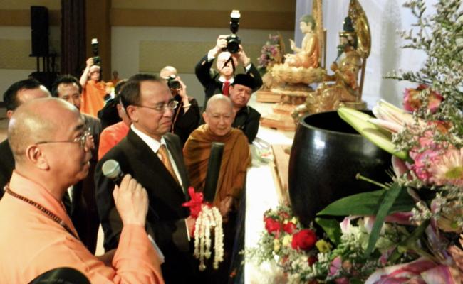 Kongres Dewan Sangha Sedunia Resmi Dibuka Menteri Agama RI