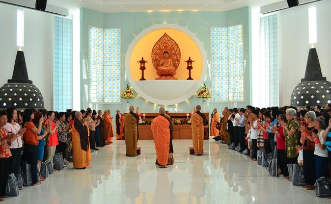 Vihara Dharma Suci Pantai Indah Kapuk Diresmikan