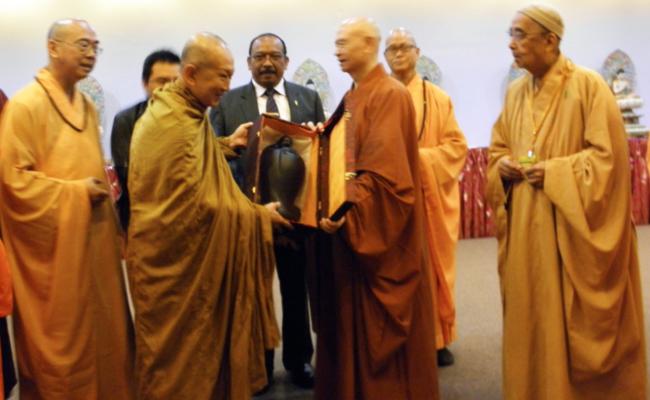 Kongres Dewan Sangha Sedunia Hasilkan Deklarasi Dorong Kesejahteraan dan Perdamaian Dunia