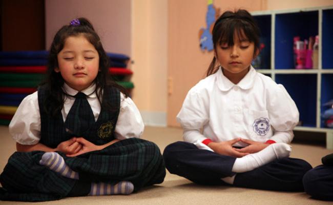 Meditasi di Sekolah