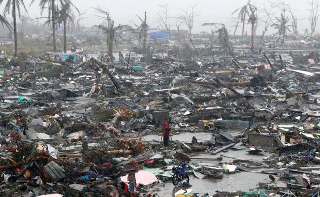 Tzu Chi Bantu Korban Topan Haiyan di Filipina