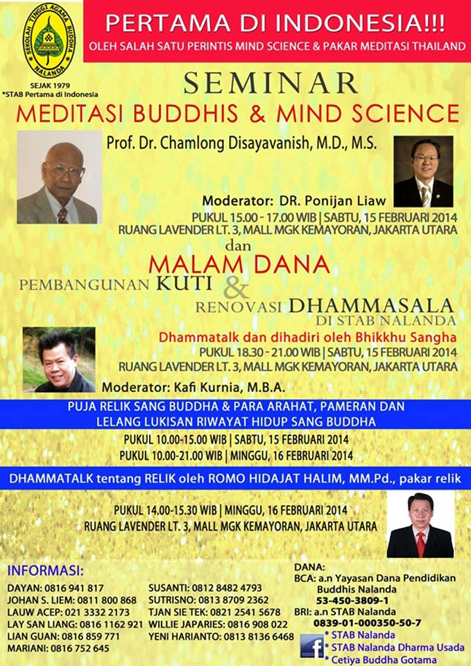Meditasi Buddhis dan Mind Science
