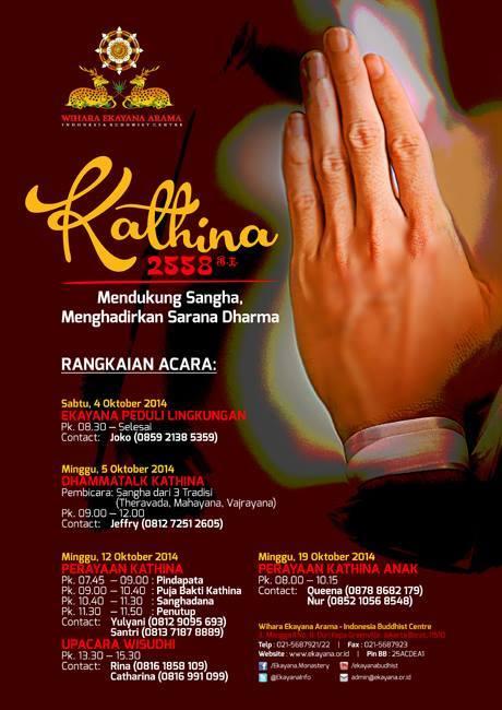 Kathina 2558 Wihara Ekayana Arama
