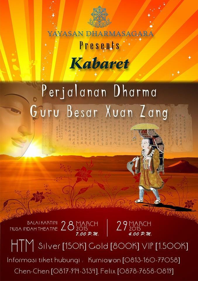 Perjalanan Dharma Guru Besar Xuan Zang