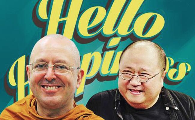 Ajahn Brahm dan Jaya Suprana Akan Berduet Berbagi Kebahagiaan