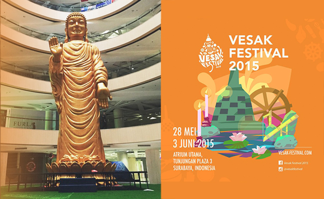 Surabaya Gelar Vesak Festival 2015