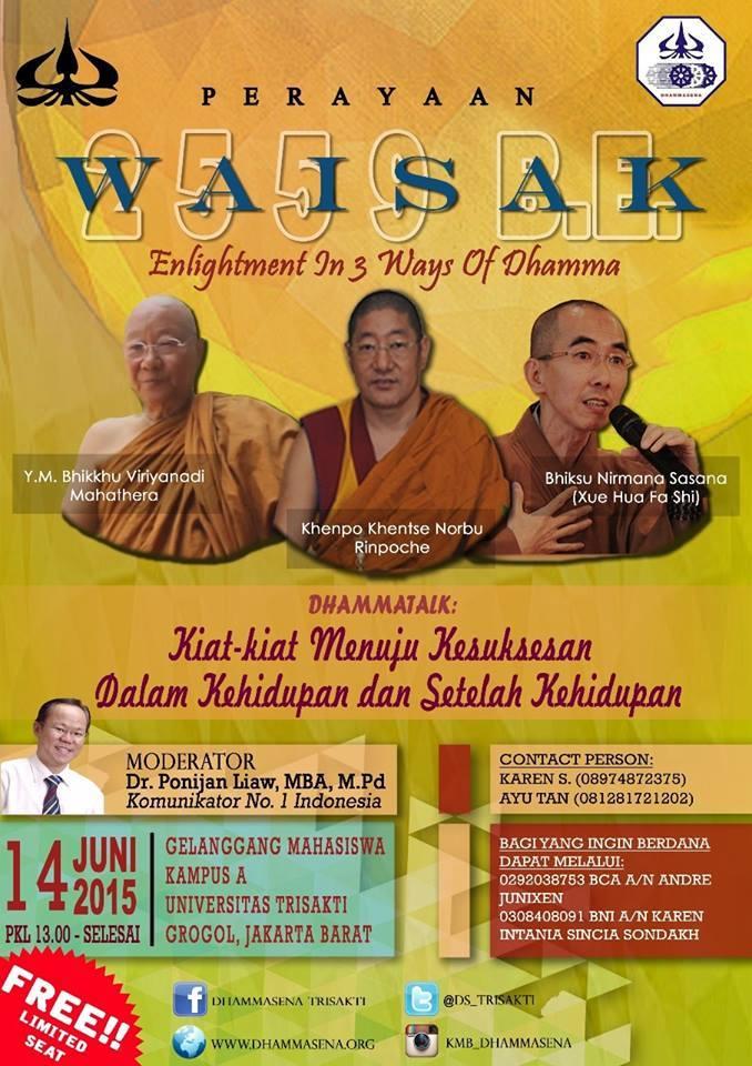 Enlightment in 3 Ways of Dhamma