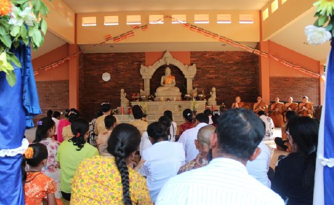 Melihat Falsafah Jawa dalam Bangunan Vihara Metta Karuna Jepara