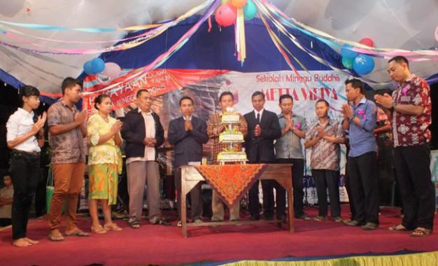 Vihara Giri Santi Loka (Bagian 2): Membangun Sarana Puja Bakti, Membangun Pendidikan, dan Membina Umat
